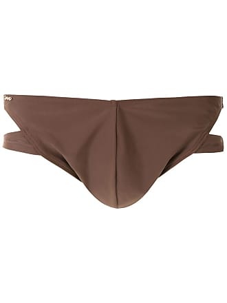 Amir Slama plain trunks - Brown
