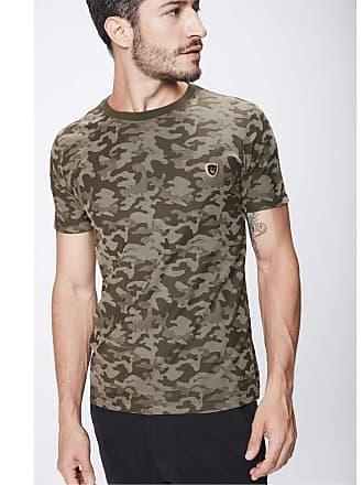 Damyller Camiseta Camuflada Masculina Tam: PP/Cor: VERDE ESCURO/VE