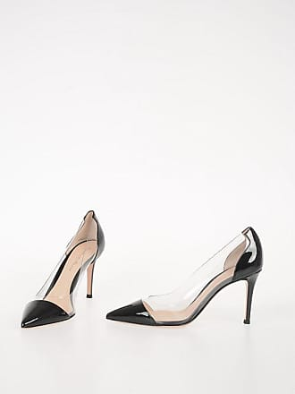 Gianvito Rossi 9cm Leather PLEXI Pumps size 36,5