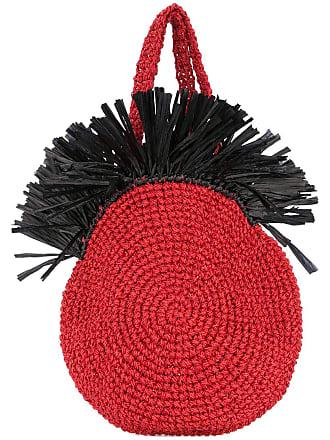 0711 Bolsa tote Tulum - Vermelho