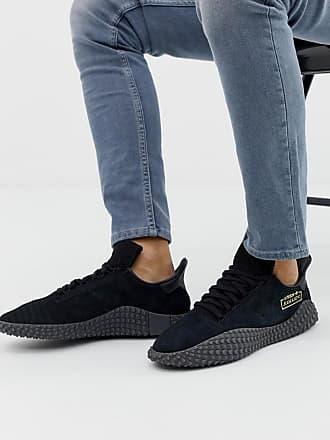 adidas Originals Kamanda - Sneaker in Dreifach-Schwarz