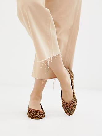 e15e44d7e6c Park Lane Square Toe Ballet Flats in leopard - Multi