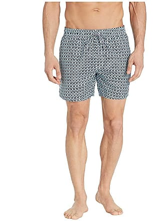 65a4fe1866 Ted Baker Hermit Mid Geo Shorty Swim Shorts (Turquoise) Mens Swimwear