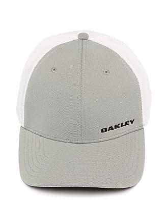 7d4c89231 Oakley Boné Oakley Silicon Bark Trucker 4.0 Cinza