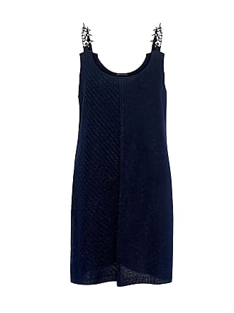 Mother Of Pearl Eura Embellished Knit Tunic Navy/navy Lurex