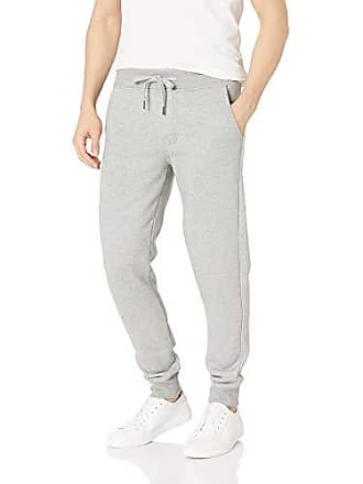 5a16d19932a9c2 Calvin Klein Mens Monogram Logo Jogger Sweatpants, Medium Charcoal Heather  Small