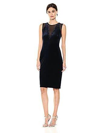 Elie Tahari Womens Chesler Dress, Stargazer, L