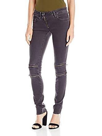G-Star Womens Lynn Mid Rise Custom Skinny Fit Colored Jean in Slander Superstretch Overdye, Crieff/Black, 27