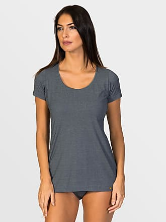 ZD Zero Defects Zero Defects grey soya short-sleeved top