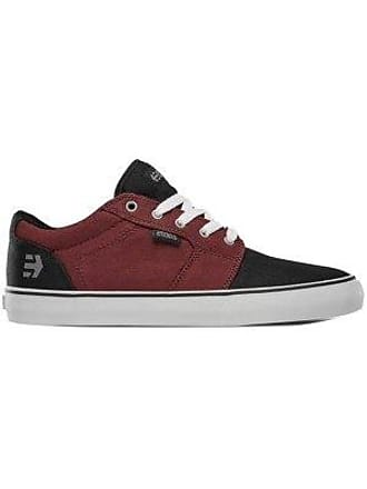 Barge LS black Etnies white burgundy Sneakers Uq4pfcZTz