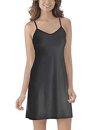 Vanity Fair Womens Full Slip 10141, Midnight Black, Large
