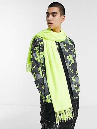 7X SVNX neon blanket scarf-Green