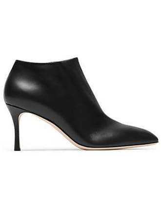 582ddad90557 Sergio Rossi Sergio Rossi Woman Leather Ankle Boots Black Size 38.5