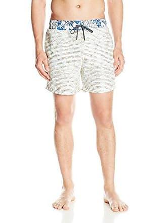 6a06106ce7baf Maaji Mens Printed Elastic Waist Mid Length Swimsuit Trunks 5 Inseam,  Milkshakes Multi, X