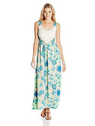 6e9abf3ccf Maaji Womens Peyote Coyote Long Cover-Up Maxi Dress, Multicolor, Small