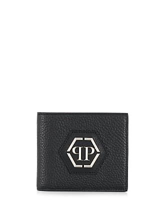 Philipp Plein Statement bi-fold wallet - Black