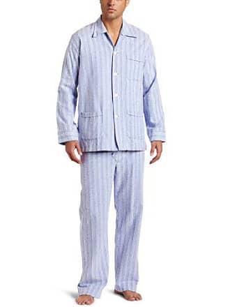 e19ea1ace4 Derek Rose Mens Arran Flannel Pajama Set