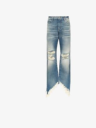 Faith Connexion slash straight jeans