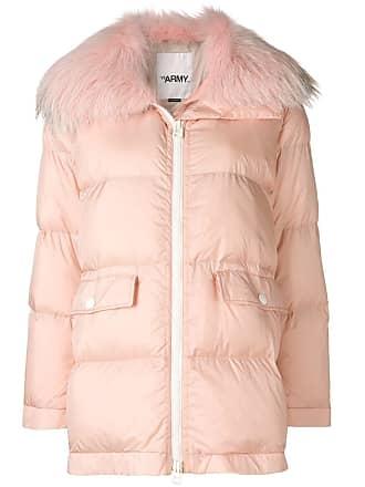 Yves Salomon - Army oversized down jacket - Pink