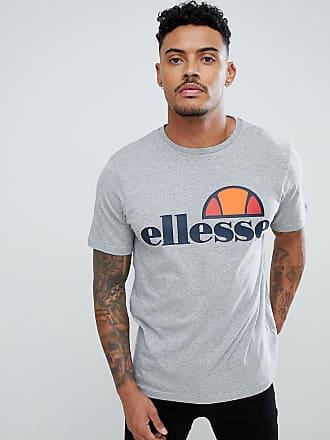 Ellesse Prado - Graues T-Shirt mit großem Logo