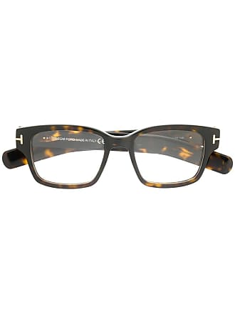 Tom Ford Eyewear soft square opticals - Brown