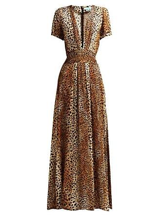 1cf36083de8 Melissa Odabash Lou Cheetah Print Maxi Dress - Womens - Leopard