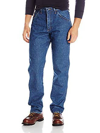 Wrangler Mens FR Flame Resistant Lightweight Regular Fit Jean, Prewash, 33WX32L