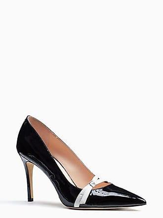 Kate Spade New York Viola Heels, Black/White - Size 9