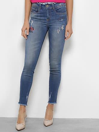 d5f9eb935 Colcci Calça Jeans Colcci Skinny Cory Bordada Feminina - Feminino