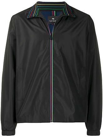 Paul Smith rainbow trim shell jacket - Preto