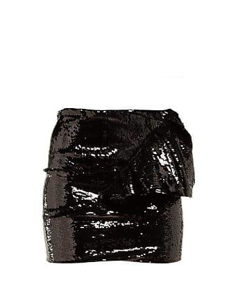 3df9505f Alexandre Vauthier Ruffled Sequinned Mini Skirt - Womens - Black