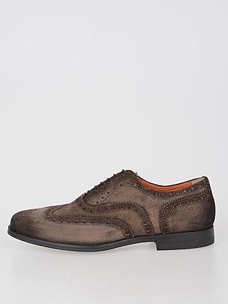 Santoni Leather Oxford Shoes size 5,5