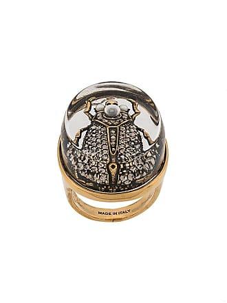 Alexander McQueen beetle ring - Gold