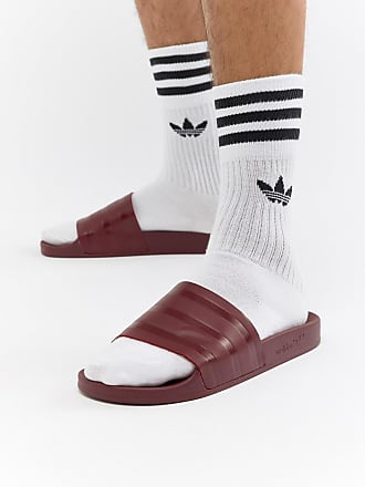 sale retailer 95d79 74f6b adidas Originals Adilette - Mules - Rouge CQ3095 - Rose