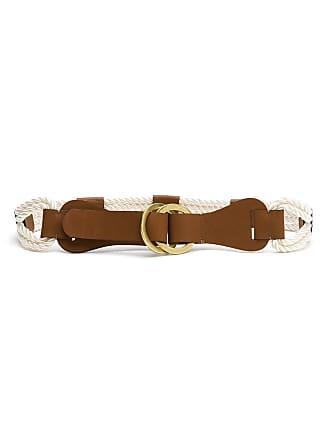 OLYMPIAH rope belt - White
