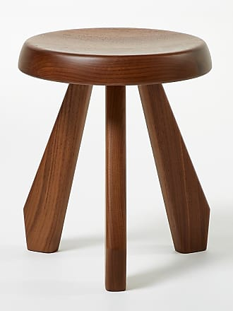 Cassina Tabouret Méribel Stool American Walnut
