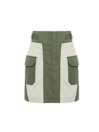 Marissa Webb Briar Skirt Khaki Combo (br0026)