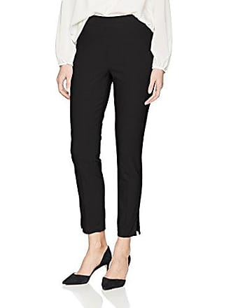 Tribal Womens Pull On Ankle Pant, Black, 18