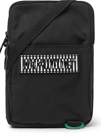 Off-white Logo-appliquéd Canvas Camera Bag - Black a565f6cc505b0