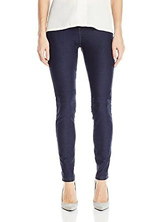 Hue Womens Essential Denim Leggings, Deep Indigo Wash, XL/Tall