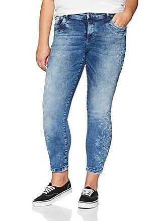 GINA LAURA Gina Laura Große Größen Damen Hose Jeans Julia KL Laserdruck ... ee458a83c6