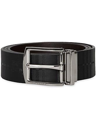 9c8b118fe6887 Burberry Reversible EKD Check Leather Belt - Black