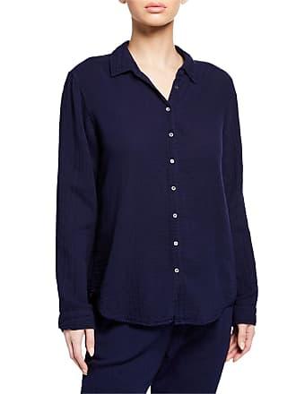 Xirena Scout Long-Sleeve Lounge Shirt