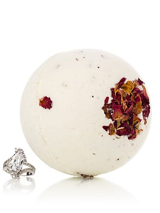Pearl Bath Bombs Morning Rose Bath Bomb w/ Luxury Ring Surprise