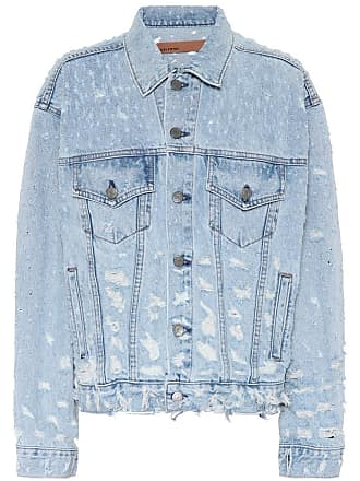 GRLFRND Distressed denim jacket