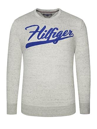 4f9bd43db69ac9 Tommy Hilfiger Übergröße : Tommy Hilfiger, Sweatshirt in melierter Optik  Grau für Herren