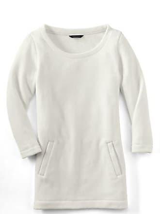 3d3bc040ef979 Lands End Womens Regular Fleece 3-Quarter Sleeve Tunic - 10 -12