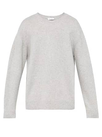 Raey Sloppy Crew Neck Cashmere Sweater - Mens - Grey
