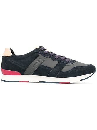 low top panelled Hilfiger sneakersBleu Tommy TK1lcuF3J