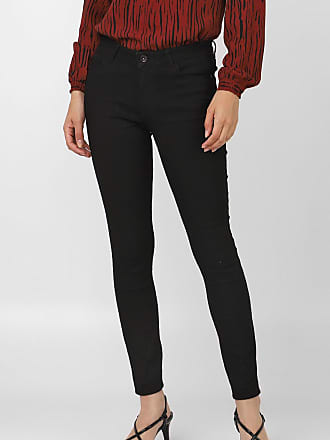 Vero Moda Calça Sarja Vero Moda Skinny Color Preta